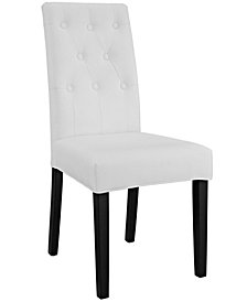 Modway Confer Dining Vinyl Side Chair