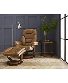 Orange Living Room Furniture - Macy\'s