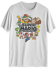 Super Mario Men's Graphic T-Shirt