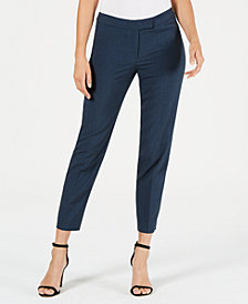 Anne Klein Slim-Leg Pants, Created for Macy's