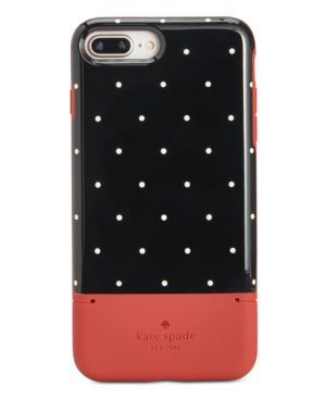 Kate Spade New York Pin Dot Card-Slot Iphone 8 Plus Case, Multi