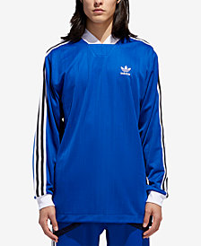 adidas Men's Originals B Sides Trefoil Back Print Goalie Jersey