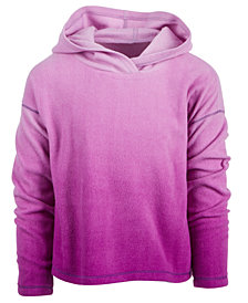 Ideology Big Girls Ombré Fleece Hoodie, Created for Macy's