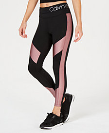 Calvin Klein Performance High-Waist Colorblocked Leggings