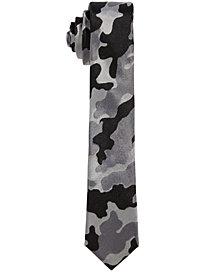 DKNY Big Boys Camo-Print Necktie