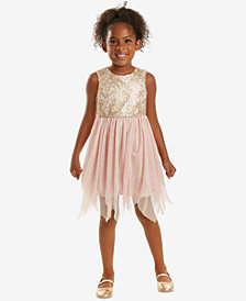 Rare Editions Little Girls Sequin-Bodice Fairy Dress