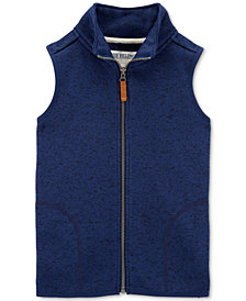 Carter's Little & Big Boys Fleece-Lined Sweater Vest