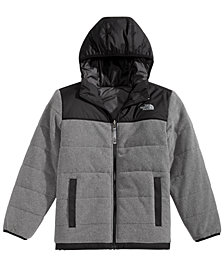 The North Face Little & Big Boys Hooded True or False Reversible Jacket