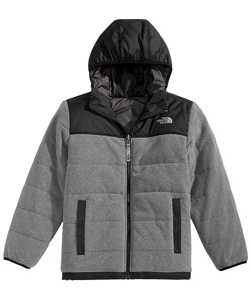 21c5c166a0b5 ... The North Face Little   Big Boys Hooded True or False Reversible Jacket  ...