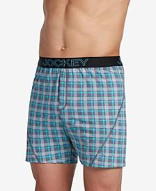 Men's Knit No-Bunch Boxers