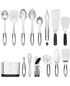 OXO SteeL 15-Piece Utensil Set