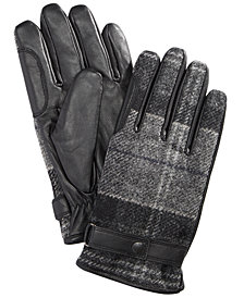 Barbour Men's Newbrough Tartan Gloves