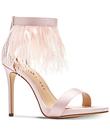 Katy Perry Editor Fringe Dress Sandals