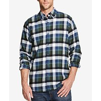Weatherproof Vintage Men's Plaid Brushed Flannel Shirt (Multiple Colors)
