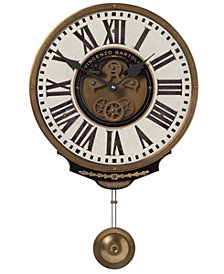 "Uttermost Vincenzo Bartolini Pendulum Wall Clock, 11"" x 17"""