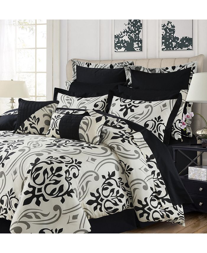 Tribeca Living - Prague 12-Pc. Cotton Bed in a Bag