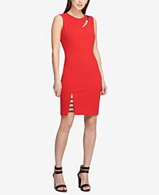 DKNY Cutout Sheath Dress, Created for Macy's