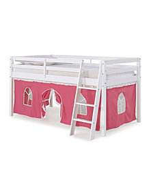 Roxy Twin Junior Loft Bed with Tent