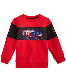 Marvel Little Boys Spidey Graphic Sweatshirt