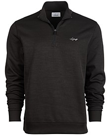 Men's Rapiwarm Quarter Zip Herringbone Sweater, Created for Macy's