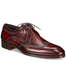 Massimo Emporio Men's Wingtip Water-Resistant Derbys, Created for Macy's
