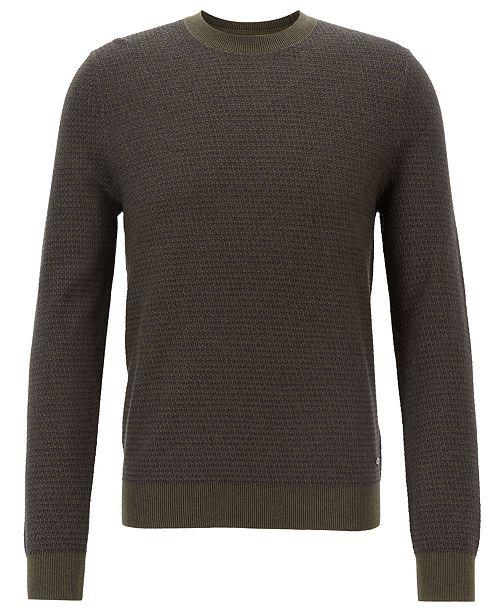 Hugo Boss BOSS Men's Lightweight Textured Sweater