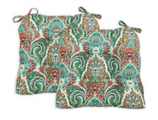 Miquelon Set of Two Chair Pad Seat Cushions