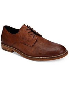 Kenneth Cole Men's Dance Leather Lace-Up Oxfords