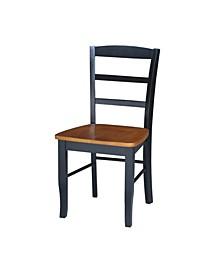 Madrid Ladderback Chairs, Set of 2