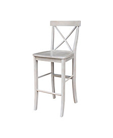 "X-Back Barheight Stool - 30"" Seat Height"