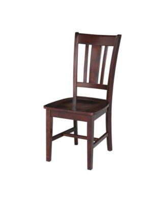 ... International Concepts San Remo Splatback Chair, Set Of 2 ...