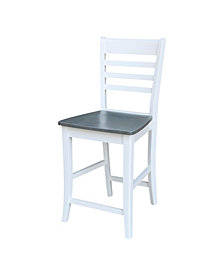 "Roma Counterheight Stool - 24"" Seat Height"