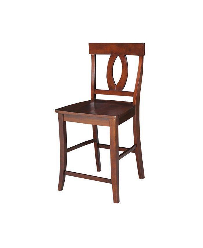 "International Concepts - Verona Counterheight Stool - 24"" Seat Height"