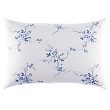 Laura Ashley Charlotte Blue Breakfast Pillow