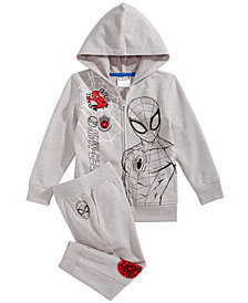 Marvel Little Boys Spidey Graphic Sweatsuit