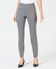 Tummy-Control Pull-On Skinny Pants, Regular and Short Lengths, Created for Macy's