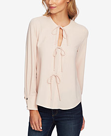 1.STATE Bow-Ties Blouse