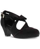 794d552bb9ab44 Kenneth Cole Little   Big Girls Dorothy Gail Dress Shoes