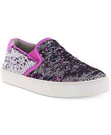 Kenneth Cole Little & Big Girls Kam Lylah Sequence Sneakers