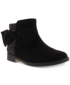 Kenneth Cole Little & Big Girls Kennedy Tie Booties