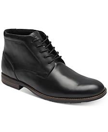 Rockport Men's Dustyn Waterproof Leather Chukkas