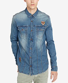Buffalo David Bitton Indigo Button-Down Shirt