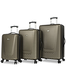 Steve Madden Antics 3-Pc. Hardside Luggage Set