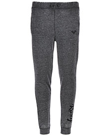 Roxy Big Girls Slim-Fit Fleece Jogger Pants