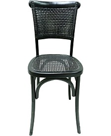Churchill Dining Chair Antique Black-Set Of Two