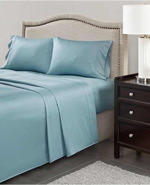 Jla Home Madison Park 600 Thread Count 4 Pc California King Pima Cotton Sheet Set