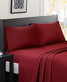 Micro Splendor 4-PC Queen Sheet Set