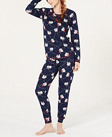 Jenni Printed Soft Pajama Set, Created for Macy's