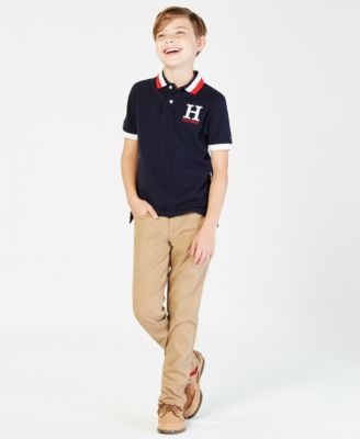 Image of Tommy Hilfiger Big Boys Matt Polo