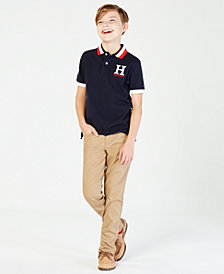 Tommy Hilfiger Boys' Matt Polo, Big Boys